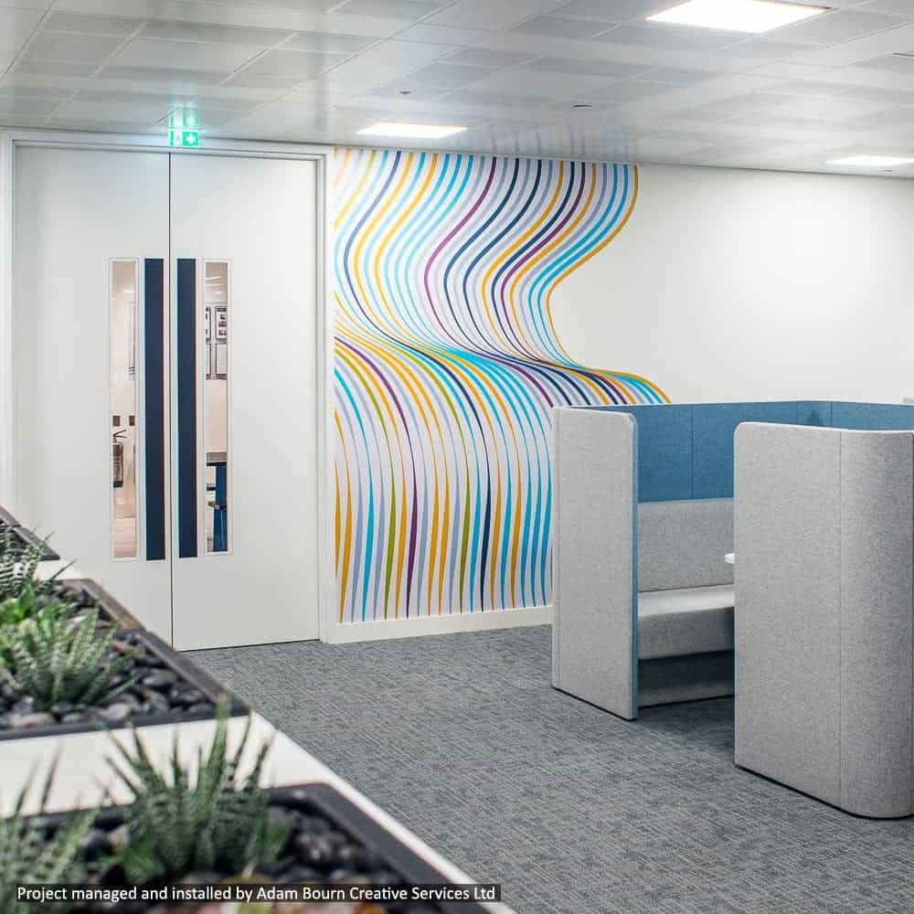 Digital Wall Coverings | Full Colour Printed
