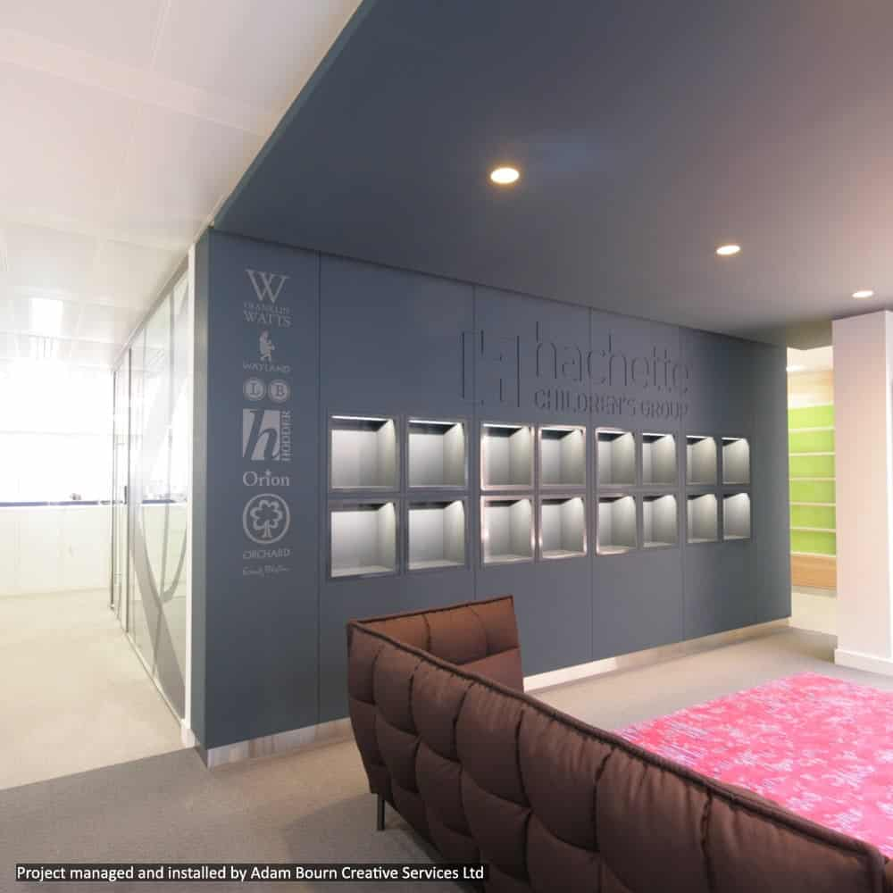 Digital Wall Coverings for Office or Retail Interiors