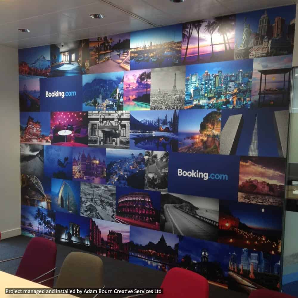 Branded Office Wall Graphics | XG Group