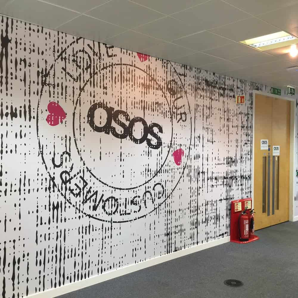 Digital Wall Coverings for Workplace Graphics