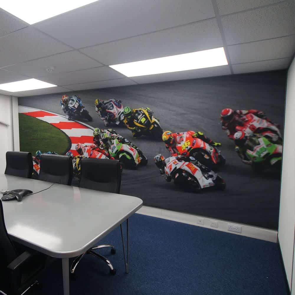 Wall Mounted Tension Fabric Graphics