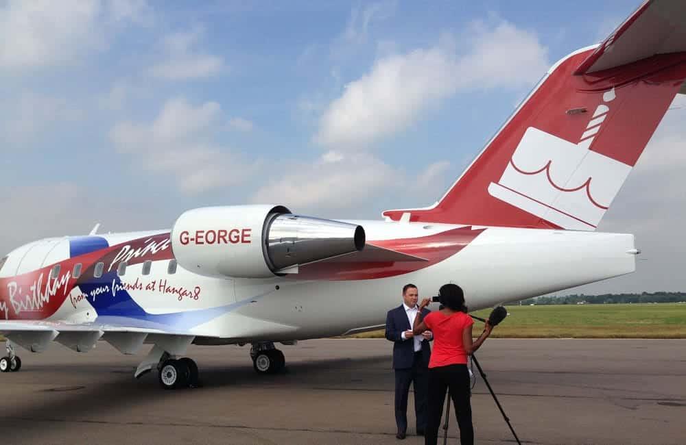 Hangar8 Prince George Plane Graphics | XG Group