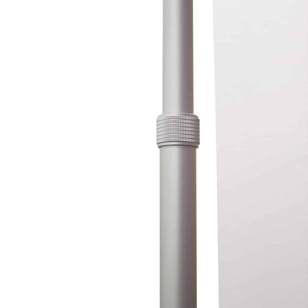 Pegasus Banner Stand Telescopic Vertical Pole Close Up