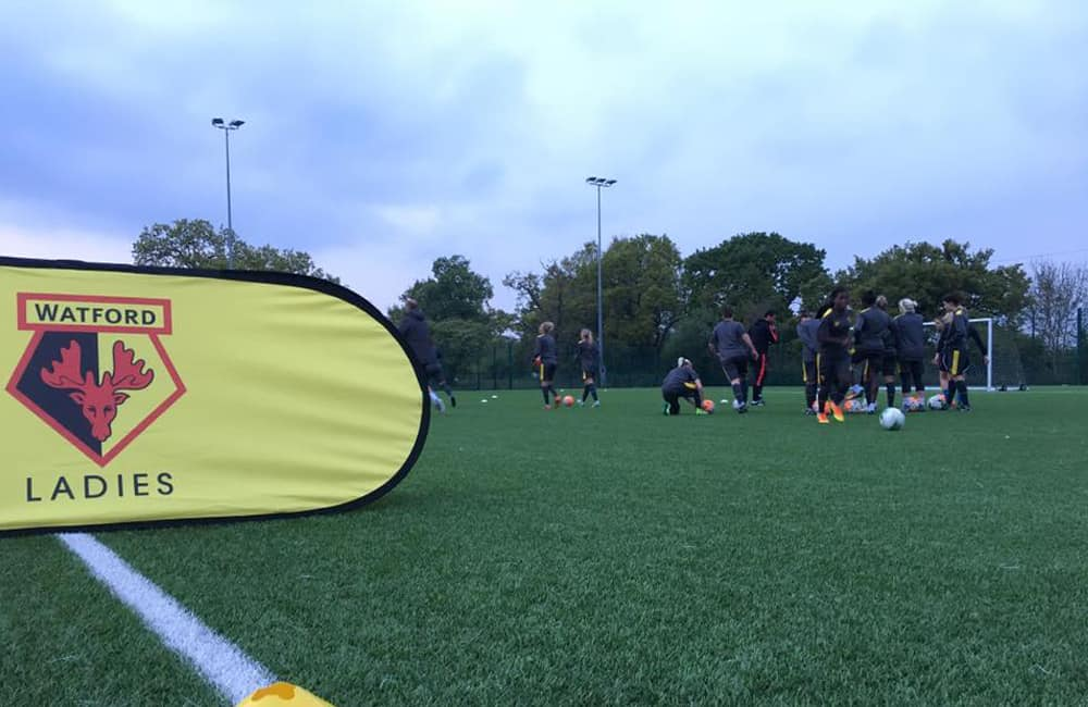 Branded Event Banners | Watford Ladies Football Club