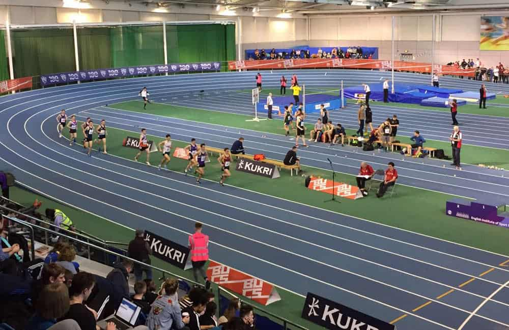 Sheffield Indoor Athletics Graphics BUCS Nationals