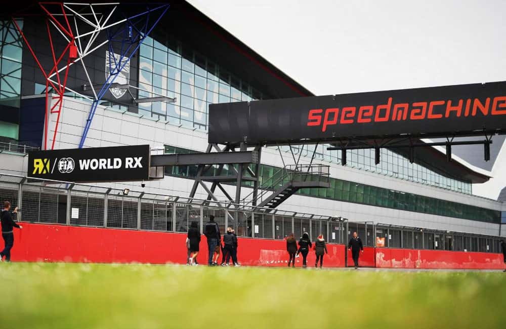 Silverstone Speedmachine Event Signage | XG Group