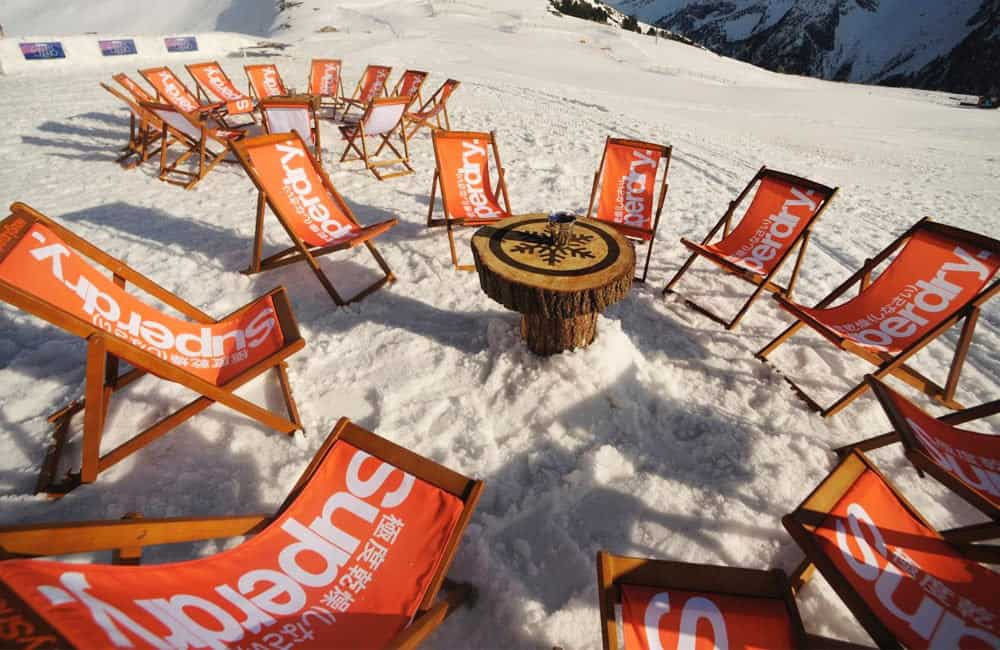Branded Deckchairs Experiential Marketing Events