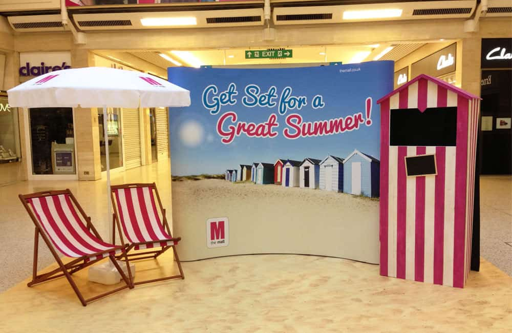 Branded Deckchairs for Experiential Marketing