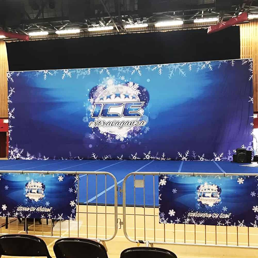 Custom Printed Stage & Fabric Backdrops | XG Group