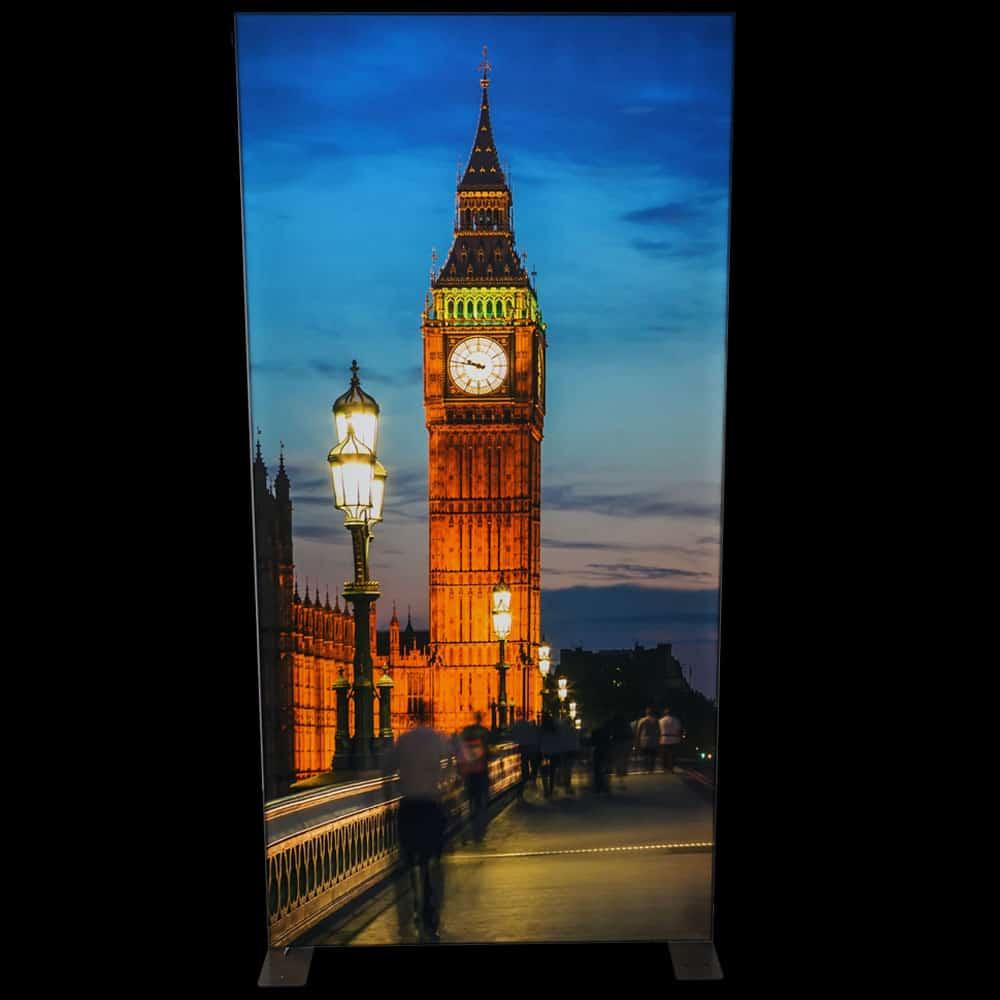 Frontlit Light box Display Illuminated