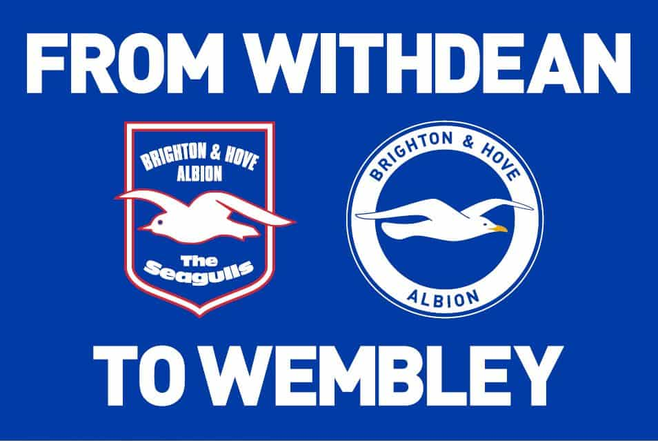 Brighton and Hove FC Giant Supporter Banner Artwork