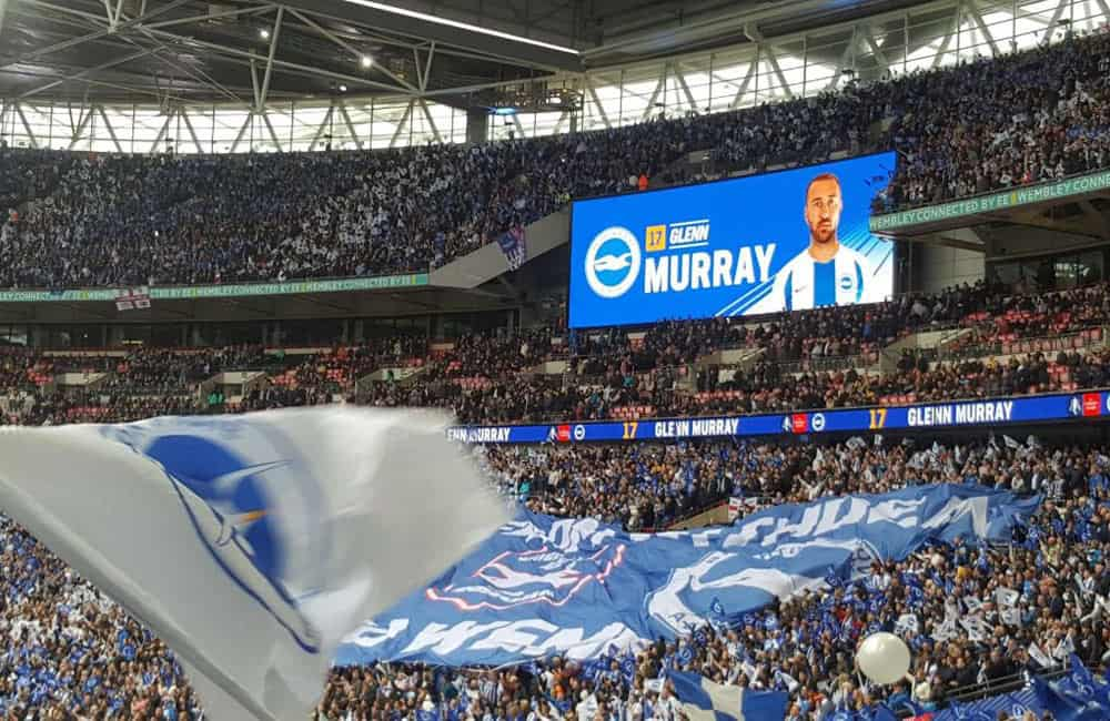 BHAFC Fan Engagement | Giant Crowd Banner