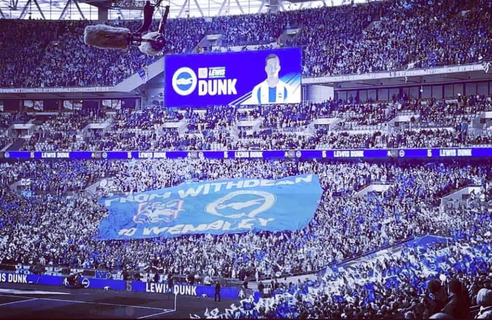 Giant Surf Flag for BHAFC | Supporter Banner