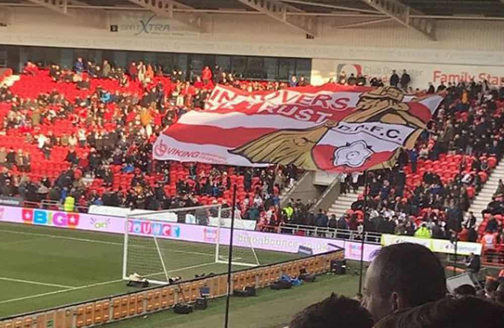 Doncaster Rovers Football Club Crowd Surf Banner