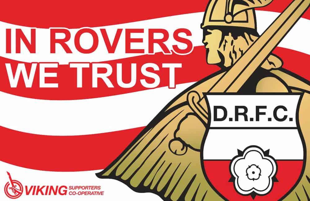 Doncaster Rover FC Supporter Banner Artwork