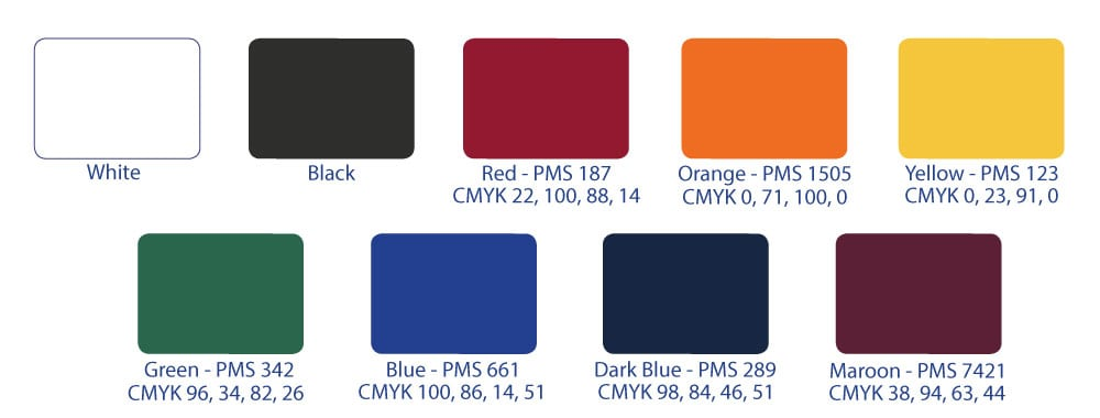 Star Tent Stock Colours Range | XG Group