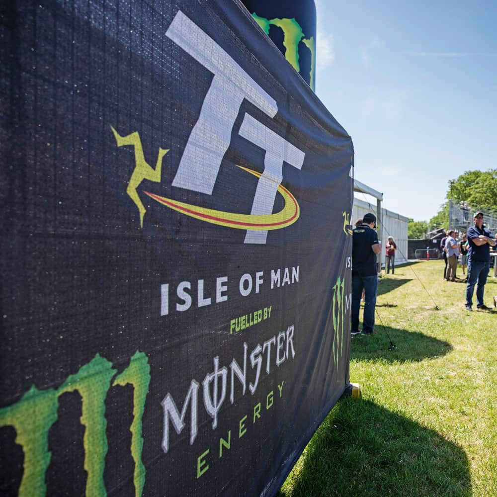 Branded Heras Fence Covers for Events