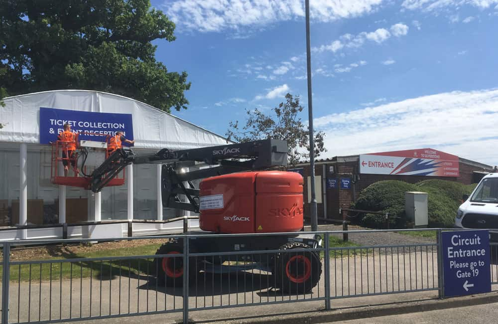 Event Graphics Silverstone British Grand Prix