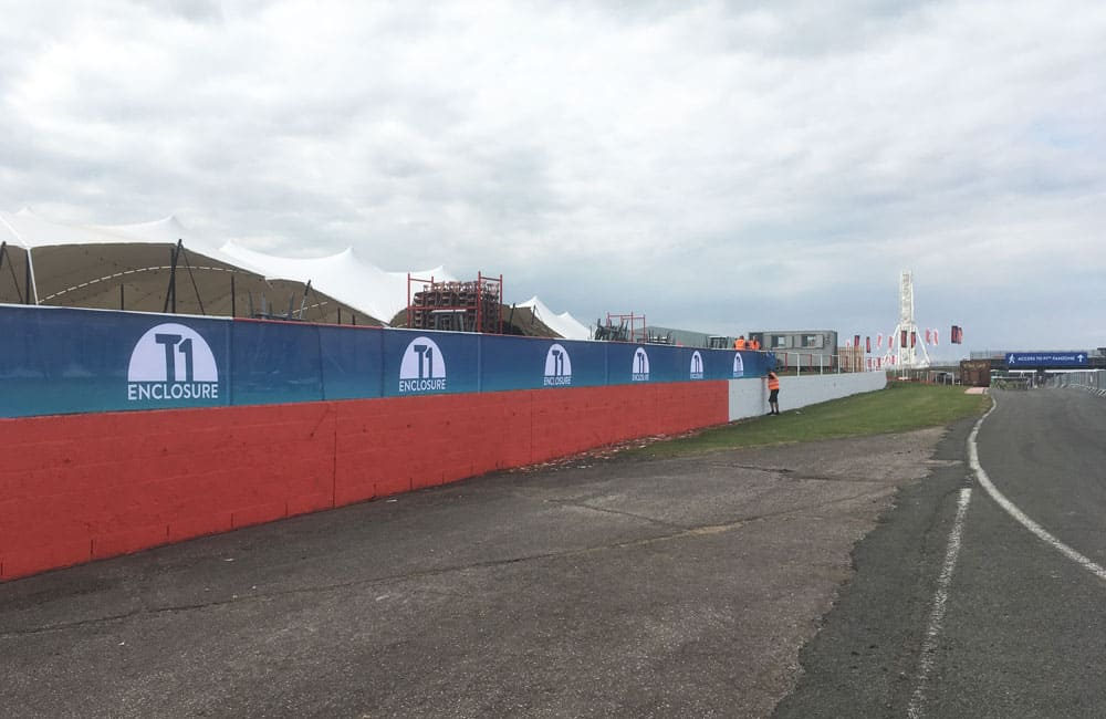 Event Branding Graphics Silverstone F1 British Grand Prix