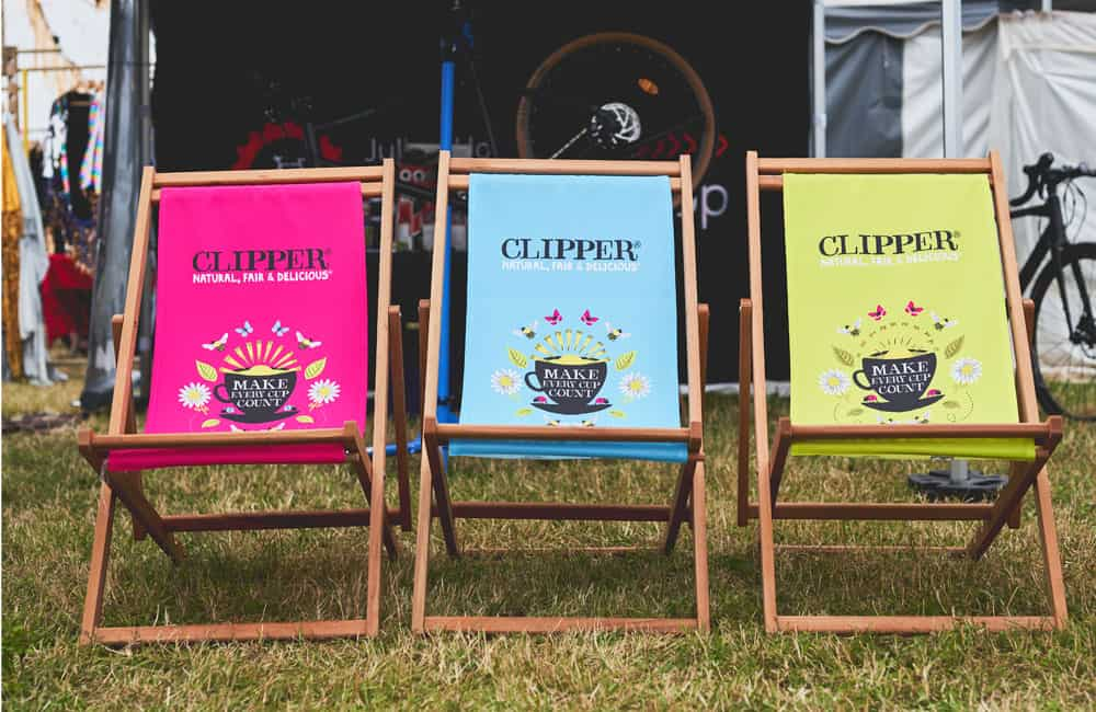 Printed Promotional Event Deck Chairs