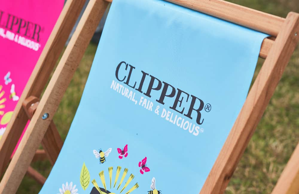Branded Event Deckchairs   Full Colour Printed