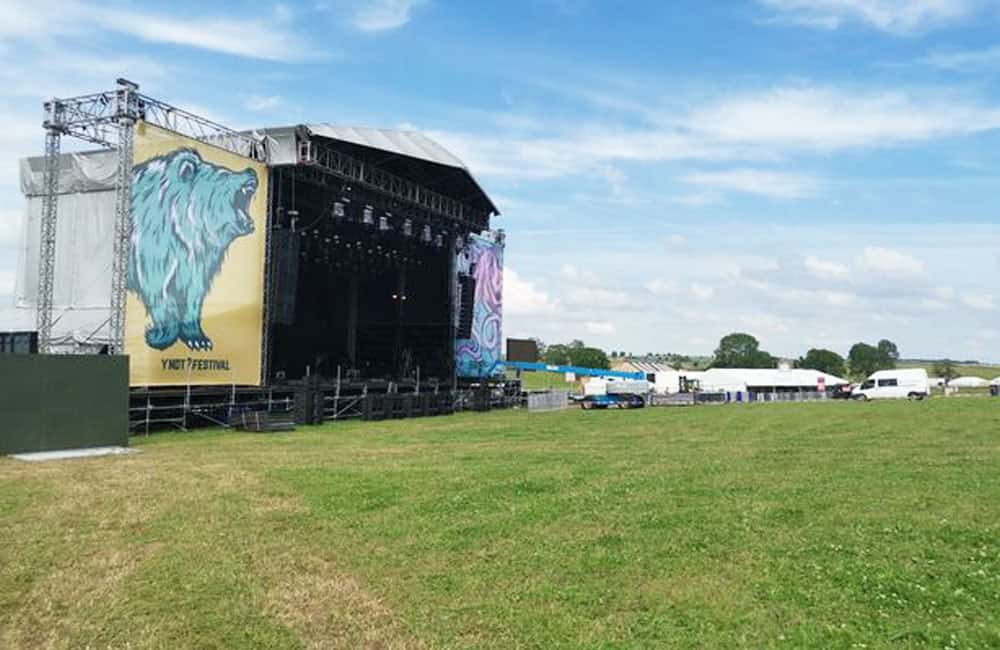 Acoustic Stage Graphics at Y Not Festival