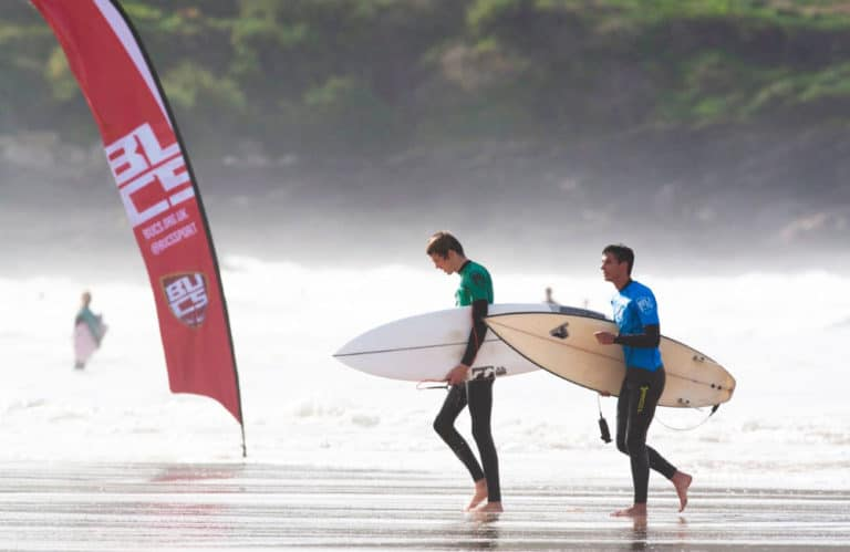 BUCS Surf Championships Branded Flags