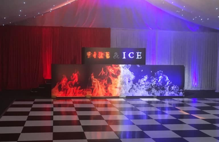 Venue Graphics Production and Fitting The Conservatory Luton Hoo