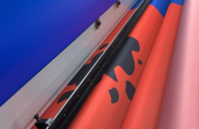 Print Production of BCFC crowd flag