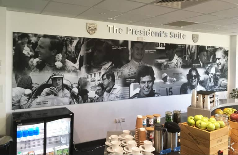 BRDC The President's Suite TFS Graphics