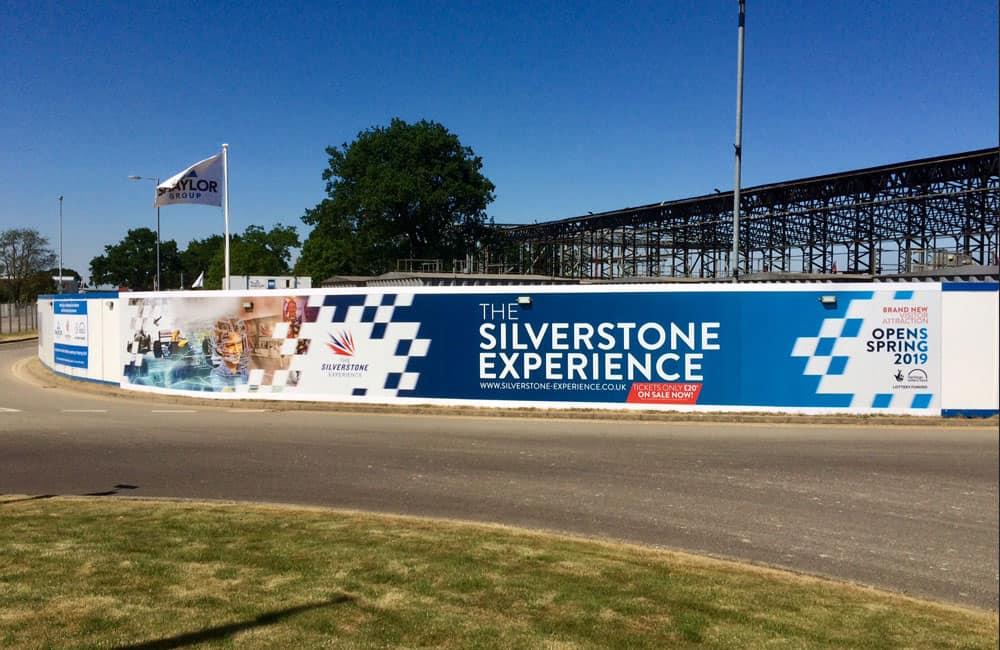 Silverstone Experience Hoarding