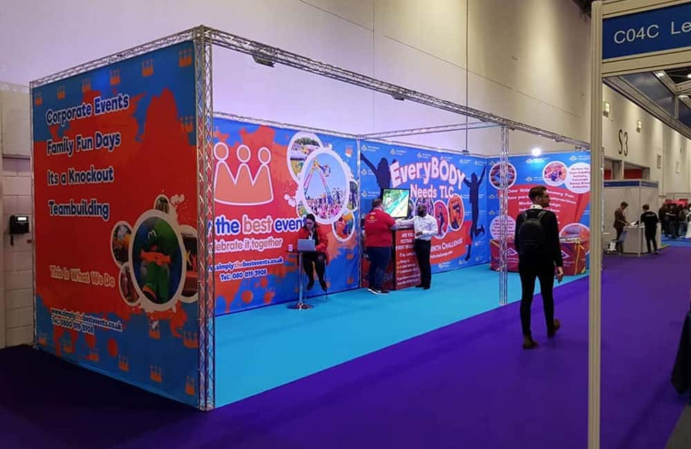 Printed Fabric Exhibition Backdrops
