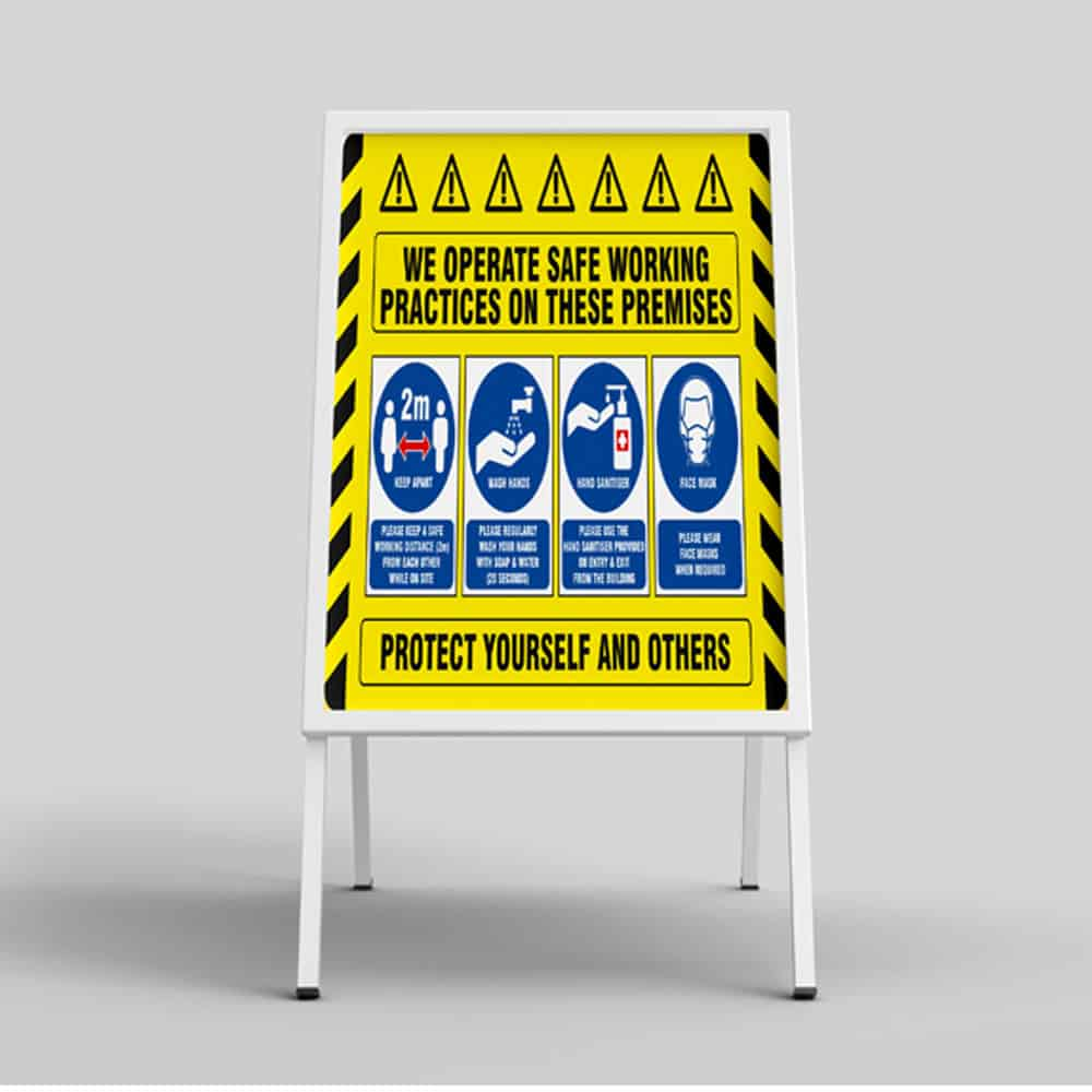 A Board Signs | Pavement Signs full colour printed