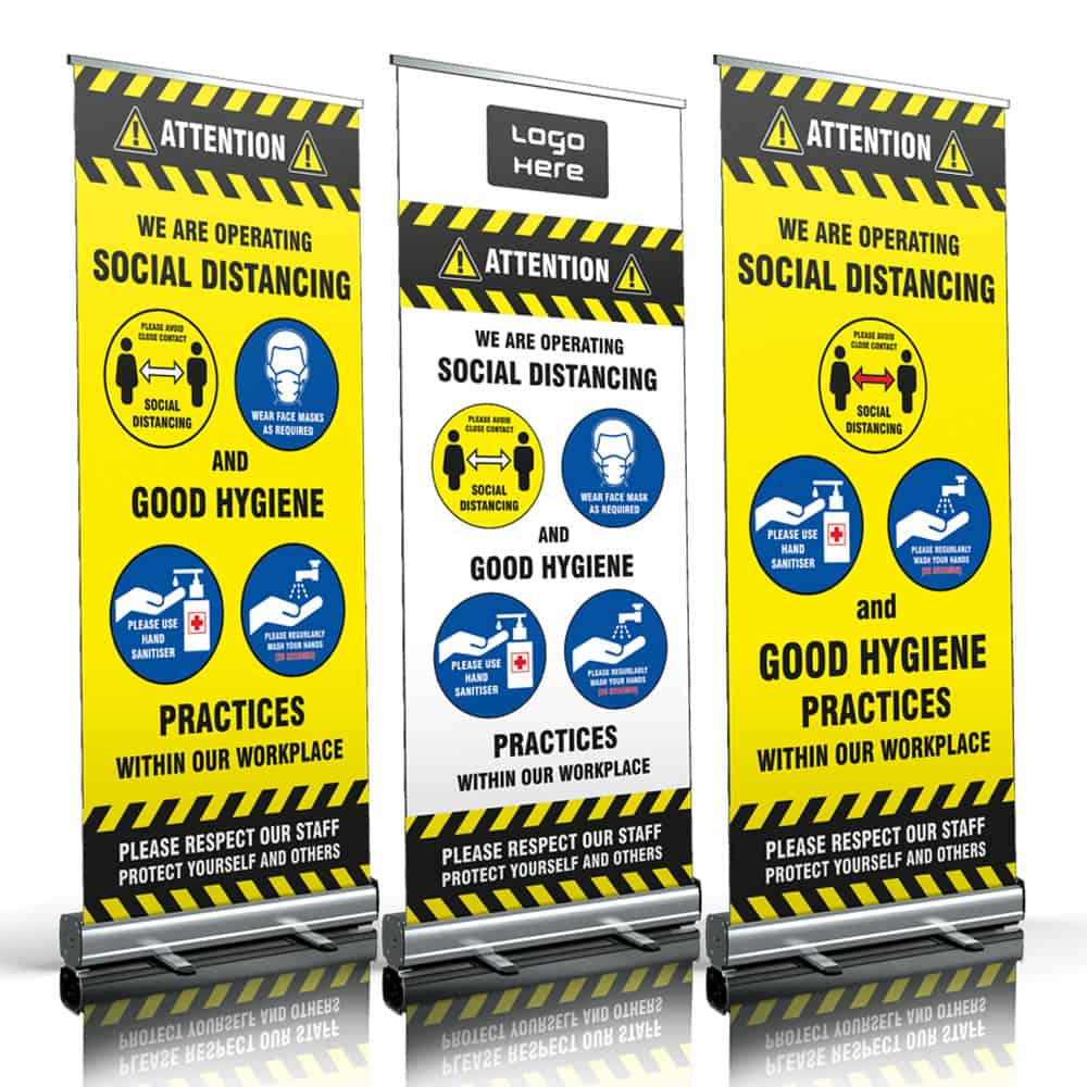 Roller Banners in a range of sizes | XG Group