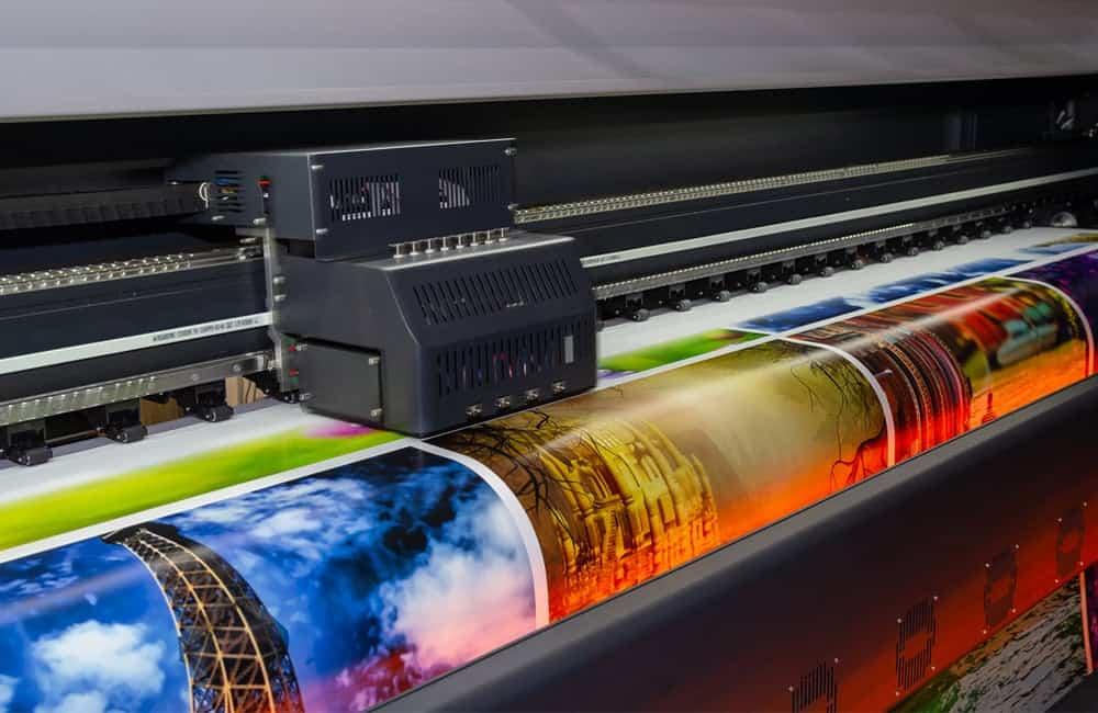 Dye sub and UV print