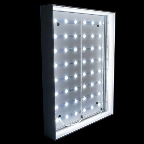 Backlit Light Box Display Close Up